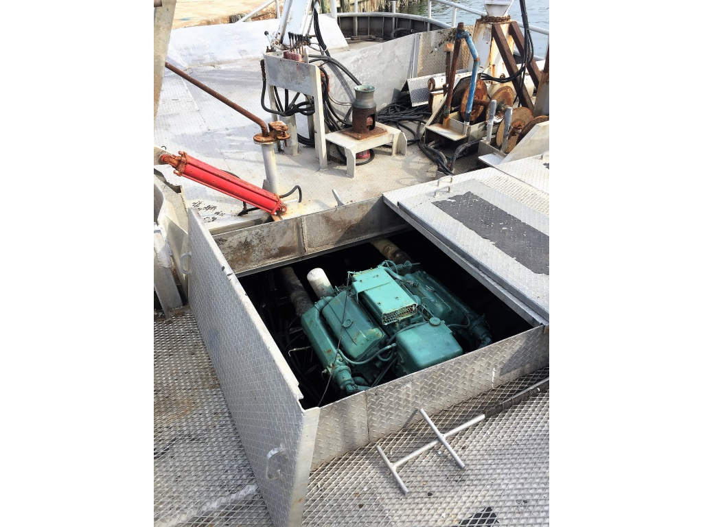 Twin 6V-53's for 36' Optional Seiner