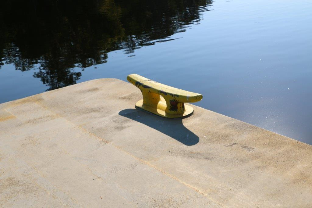 Overstock Boats - New ABS single raked spud barge for sale