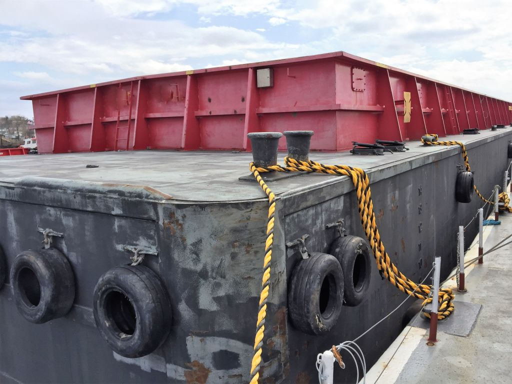 Overstock Boats - ABS Hopper Barge For Sale